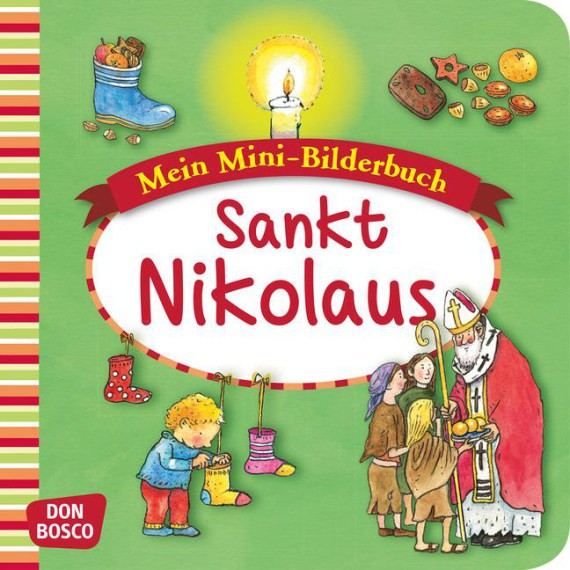 Sankt Nikolaus. Mini-Bilderbuch.