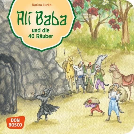 Ali Baba und die 40 Räuber. Mini-Bilderbuch.