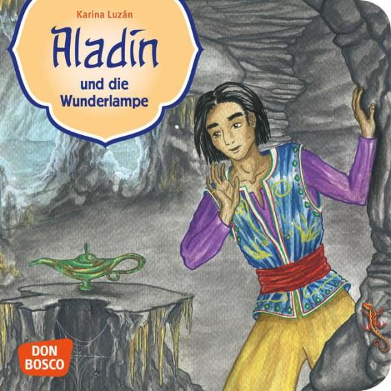 Aladin und die Wunderlampe. Mini-Bilderbuch.