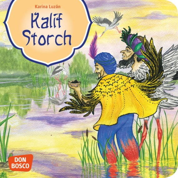 Kalif Storch. Mini-Bilderbuch.