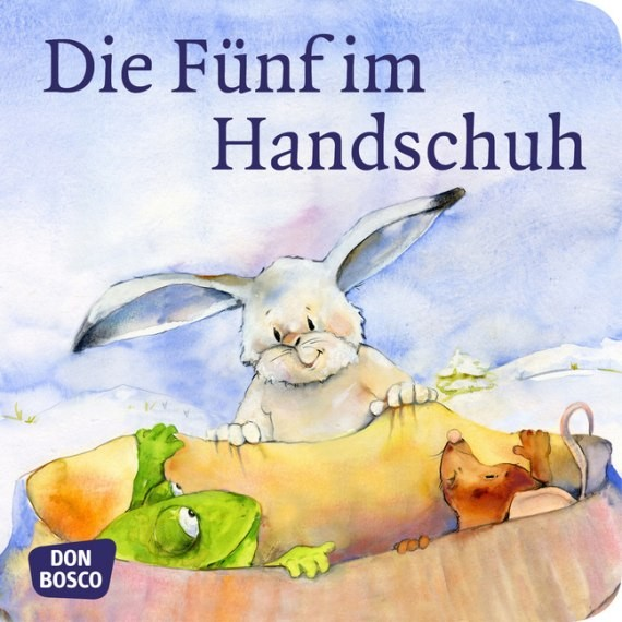 Die Fünf im Handschuh. Mini-Bilderbuch.