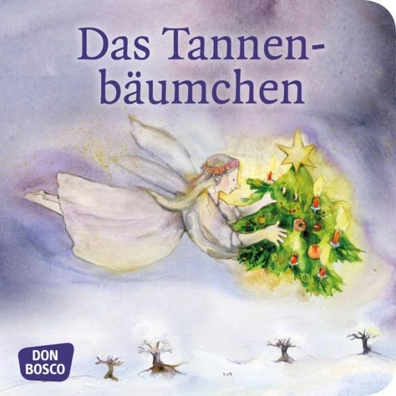 Das Tannenbäumchen. Mini-Bilderbuch.