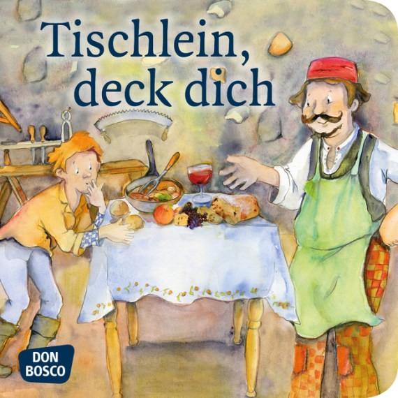 Tischlein, deck dich. Mini-Bilderbuch.
