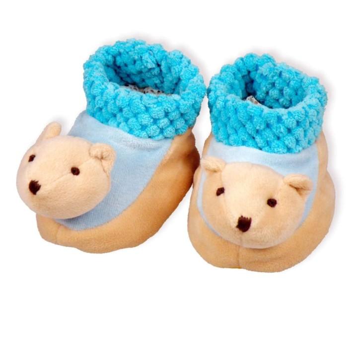 Babyschuhe - Bär