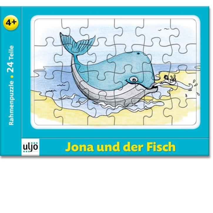 Rahmenpuzzle Jona und der Fisch