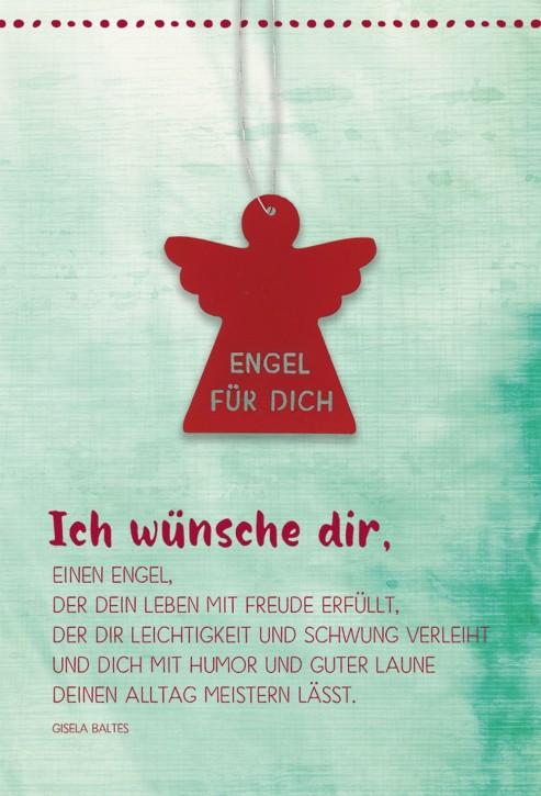 Klappkarte Engel für dich