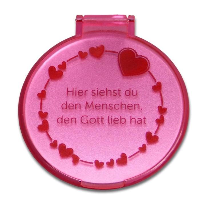 Taschenspiegel - Herzen
