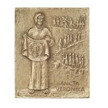 Bronzerelief Veronika