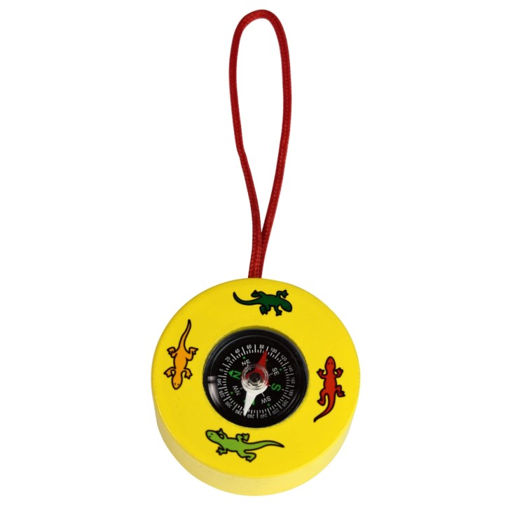 Kompass für Kinder aus Holz
