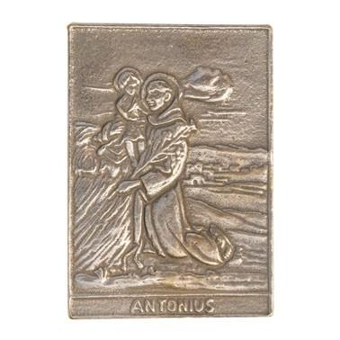 Heiligenplakette: Antonius