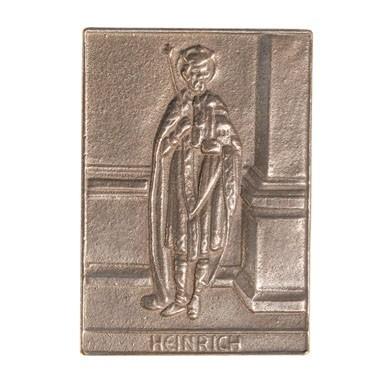 Bronzerelief Heinrich