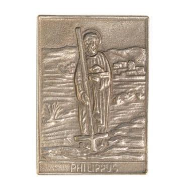 Bronzerelief Philippus