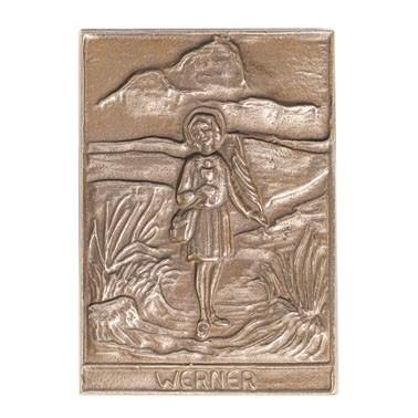 Bronzerelief Werner