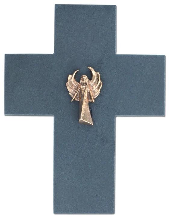 Schieferkreuz Engel