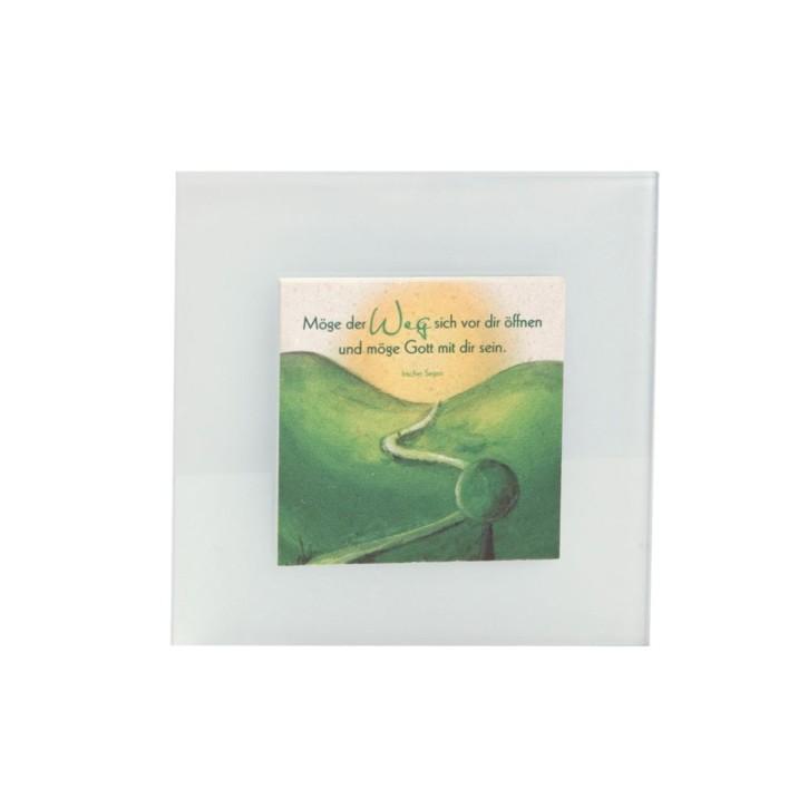 Natursteinrelief  - Weg