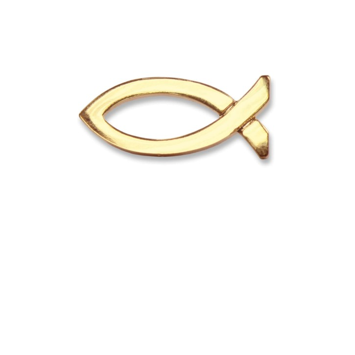 Metall-Anstecker Ichthys