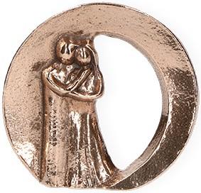 Bronzefigur Zweisamkeit