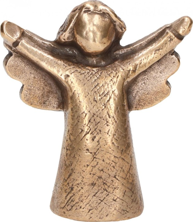 Bronzefigur Engel der Lebensfreude