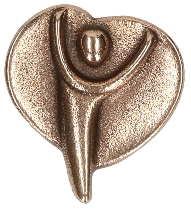 Bronze-Handschmeichler - Engel der Freude