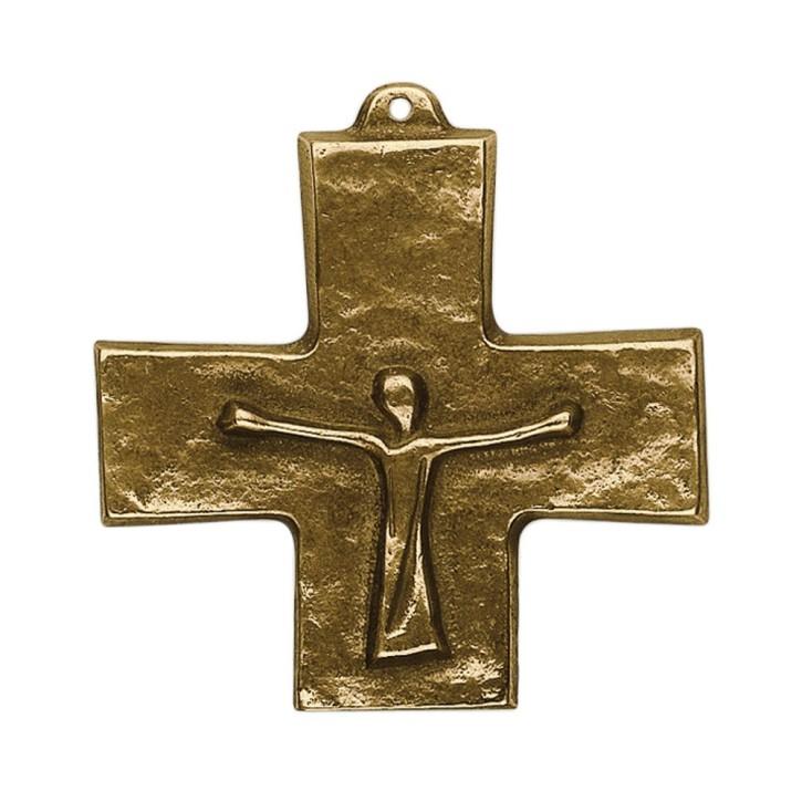 Auferstehungskreuz Bronze