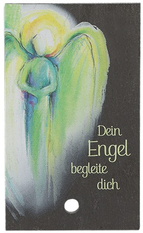 Schieferrelief Dein Engel begleite dich