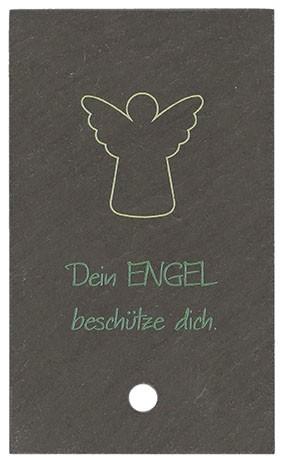 Schieferrelief Dein Engel beschütze dich