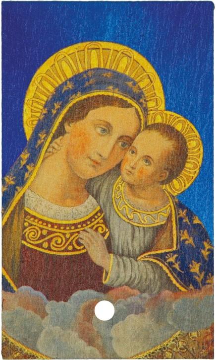 Schiefertafel - Maria mit Kind