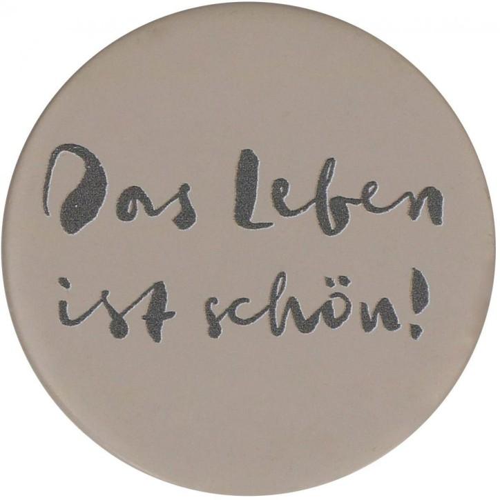 FeinbetonMagnet-Kreis  - Das Leben ist schön!