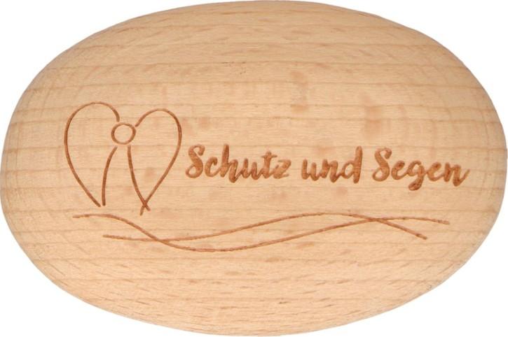 Holzhandschmeichler Schutz und Segen