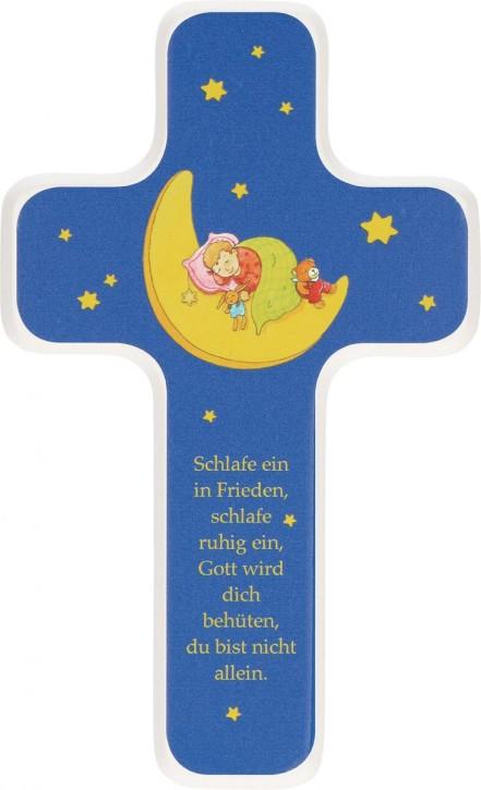 Kinderholzkreuz Schlafe ein in Frieden...