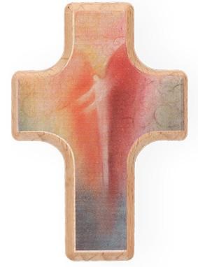 Handschmeichlerholzkreuz Engel
