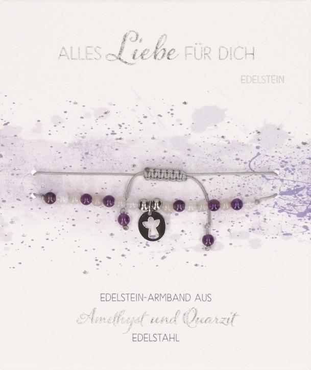 Echtstein-Armband Alles Liebe für dich