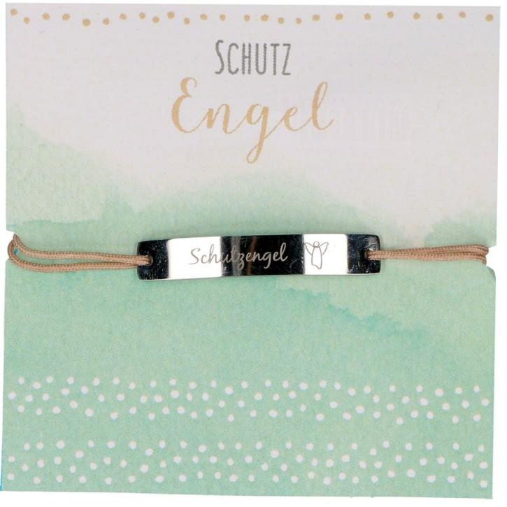 Textil-Armband - Schutzengel