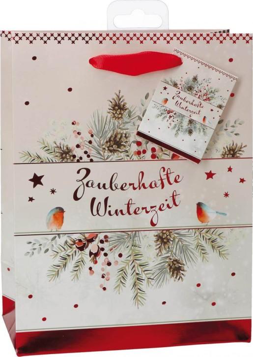 Geschenktüte - Zauberhafte Winterzeit