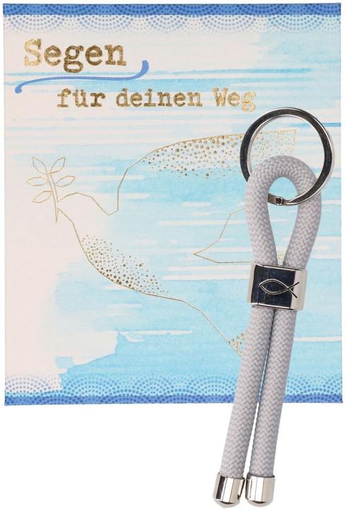 Schlüsselanhänger zur Firmung - Segen für deinen Weg