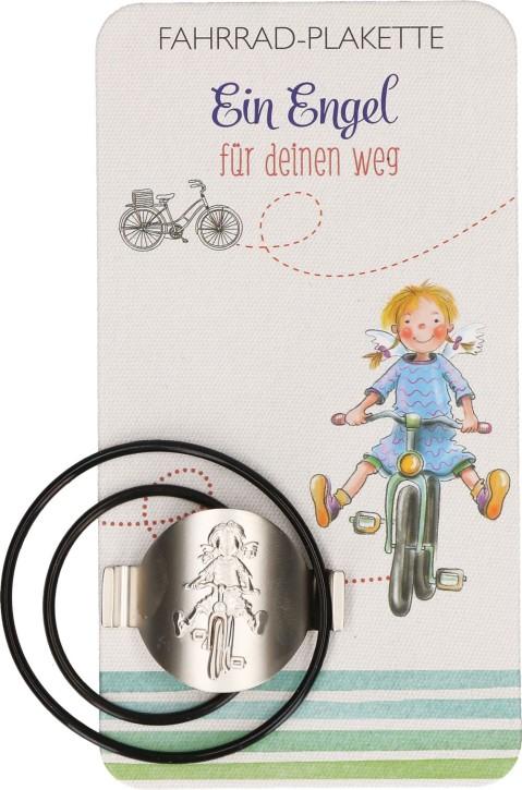 Fahrrad-Plakette - Ein Engel für deinen Weg