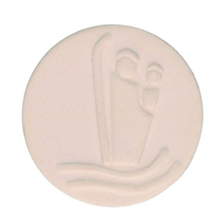 Porzellan-Plakette Christophorus