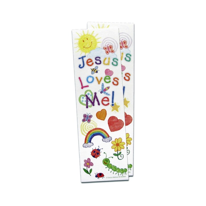 Lesezeichen - Jesus loves me