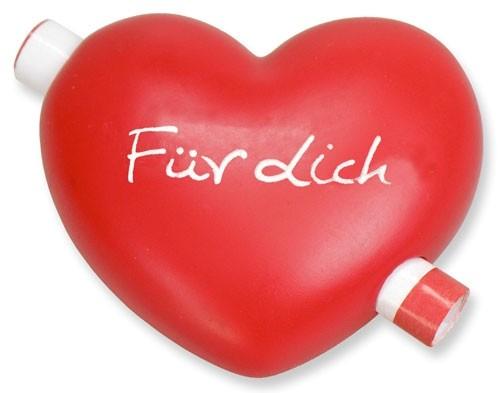 Gutschein-Herz - Für dich