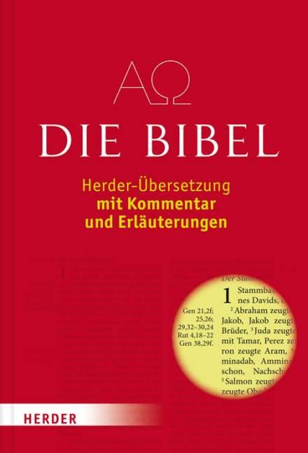 Die Bibel, Herder-Übersetzung, Studienbibel