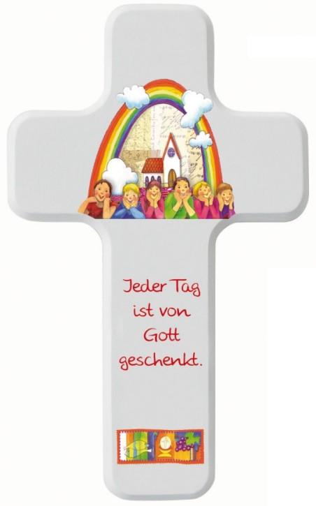 Kinderkreuz Jeder Tag ist von Gott
