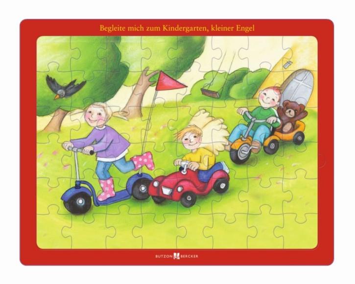 Begleite mich zum Kindergarten, kleiner Engel! - Glaubens-Puzzle