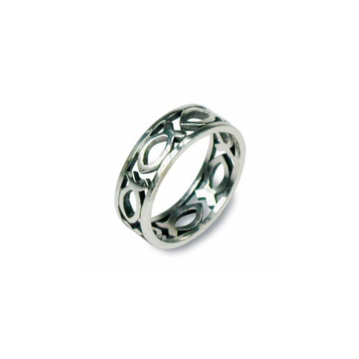 Ring - Fische 16mm