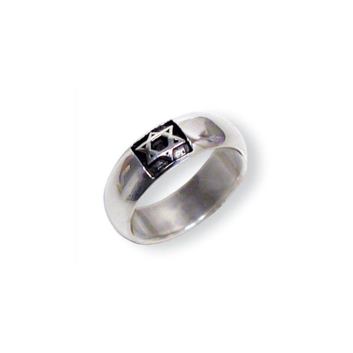 Ring - Davidstern 15mm