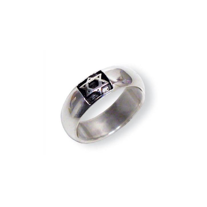 Ring - Davidstern 21 mm