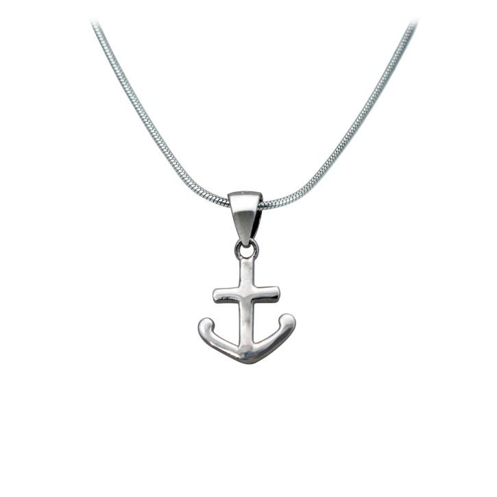 Halskette - Ankerkreuz