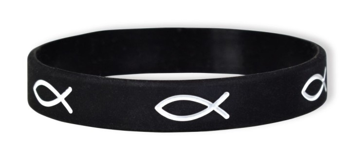 Bekenntnis-Armband schwarz