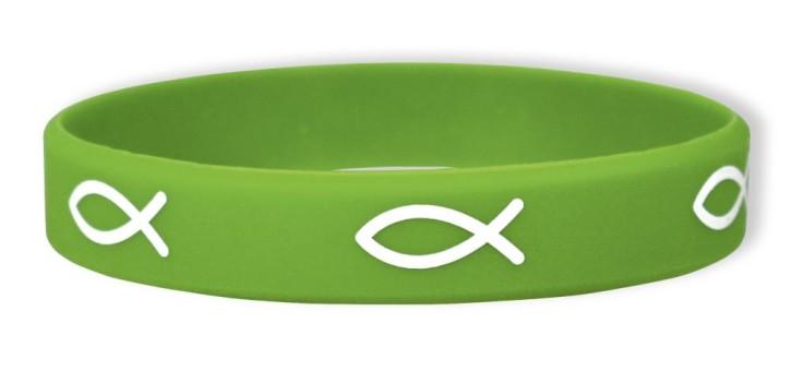 Bekenntnis-Armband grün