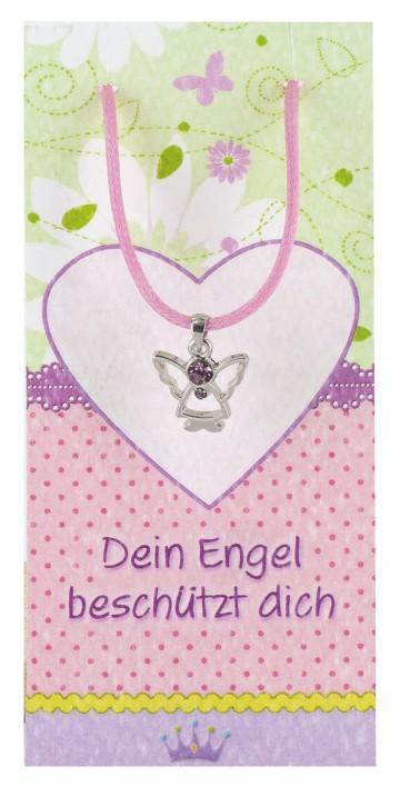 Dein Engel beschützt dich - Halskettchen mit Schmuckengel