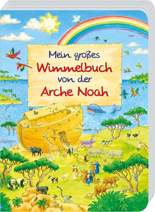 Mein großes Wimmelbuch von der Arche Noah